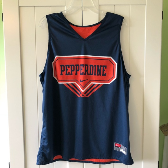 b74b5ed0dca23 Nike Shirts | Pepperdine Basketball Practice Reversible Jersey ...